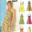 Simplicity Sewing Pattern 4560 Junior Size 11/12 - 15/16 Halter Sundress Variations