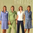 Simplicity Sewing Pattern 4637 Misses Size 6-12 Pants Skirt Jacket Shirt Purse Threads Collection
