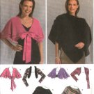 Simplicity Sewing Pattern 4742 Misses Size 4-6-8-10-12 Easy Shrug Poncho Capelet Wrap