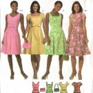 Simplicity Sewing Pattern 4675 Misses Size 14-16-18-20 Dropped Waist Sleeveless Dress Purse