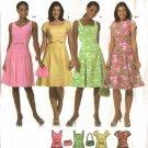 Simplicity Sewing Pattern 4675 Misses Size 14-16-18-20 Dropped Waist Sleeveless Dress Purse