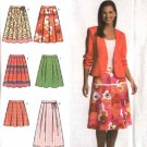 Simplicity Sewing Pattern 4703 0592 Misses Size 4-6-8-10 Easy Pleated Skirts
