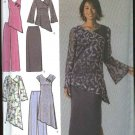 Simplicity Sewing Pattern 4775 Misses Size 6-12 Wardrobe Dress Tunic Top Pants Skirt