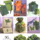 Simplicity Sewing Pattern 4800 Gift Bags Boxes Bows Stationary