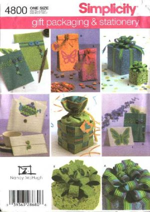 Amazon.com: Simplicity Sewing Pattern 2493 Crafts, One Size: Arts