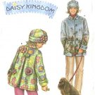 Simplicity Sewing Pattern 4805 Misses Size 6-24 girls Size 3-8 Daisy Kingdom Fleece Coat  Hat