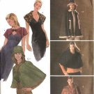 Simplicity Sewing Pattern 4880 Misses Size 6-16 Cape Capelet Shrug Hat Knit Shrug