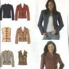 Simplicity Sewing Pattern 4953 Misses Size 14-16-18-20 Jacket  Vest
