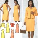 Simplicity Sewing Pattern 4991 Misses Size 14-16-18-20 Easy Dress Jacket