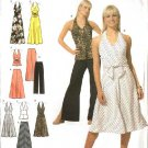Simplicity Sewing Pattern 4998 Misses Size 14-16-18-20 Skirt Pants Dress Halter Top