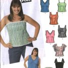 Simplicity Sewing Pattern 5009 Junior Plus Size 13/14+ - 21/22+  Corset Summer Tops