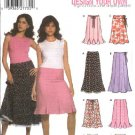 Simplicity Sewing Pattern 5065 Misses  Size 6-8-10-12 Gored Skirts