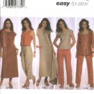 Simplicity Sewing Pattern 5070 Womans Plus Size 20W-28W Easy Wardrobe Dress Top Pants Jacket Vest