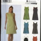 Simplicity Sewing Pattern 5092 Mises Size 4-6-8-10 Easy Summer Sleeveless Dress Mini-Dress Belt