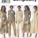 Simplicity Sewing Pattern 5104 Misses Size 10-18 Wardrobe Jacket Skirt Pants Top