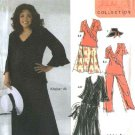 Simplicity Sewing Pattern 5109 Womans Plus Size 26W-32W Skirt Pants Top Hat Khaliah Ali