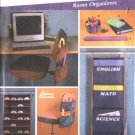 Simplicity Sewing Pattern 5133 Room Organizers CD Holder Chair Seat Monitor Cover Wrist Rest Book