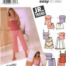 Simplicity Sewing Pattern 5200 Junior Size 11/12 - 15/16  Easy Wardrobe Tunic Top Pants Skirt Shorts