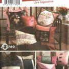 Simplicity Sewing Pattern 5236 Zen Inspired throw Pillows Cushions Home Decoration