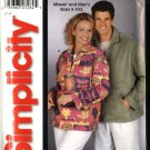 "Simplicity Sewing Pattern 5243 Misses Mens Unisex Size chest 34 - 52"" Jacket Top"