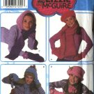 Simplicity Sewing Pattern 5269 Girls' Fleece Hats Mittens Scarves Lizzie McGuire