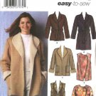 Simplicity Sewing Pattern 5306 Misses Size 6-16 Easy Wrap Front Coat Jacket Vest