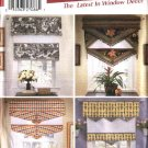 Simplicity Sewing Pattern 5342 Modern Window Treatments Shades Valances Home Decoration