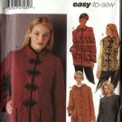 Simplicity Sewing Pattern 5348 Misses Size 6-8-10-12 Easy Hooded Coat Jacket  Vest