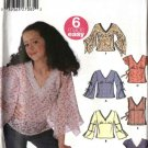 Simplicity Sewing Pattern 5399 Girls Plus Size 8-16 Easy  Pullover Long Sleeve Sleeveless Tops