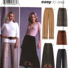 Simplicity Sewing Pattern 5459 Misses Size 6-12 Easy Long Cropped Pants Shorts A-Line Fitted Skirt