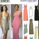 Simplicity Sewing Pattern 5587 Misses Size 12-18 Knit Evening Prom Formal Long Short Dresses
