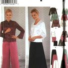 Simplicity Sewing Pattern 5725 Misses Size 8-14 Formal Prom Long Skirt Pant Camisole Jacket