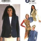 Simplicity Sewing Pattern 5738 Misses Size 6-12 3 Hour Jacket Vest