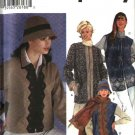 Simplicity Sewing Pattern 5793 Misses Size 6-8-10-12 Jacket Vest Hat Scarf