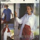Simplicity Sewing Pattern 8236 Misses Size 12-16 Shirt Jacket Straight Skirt Culottes Gauchos Split
