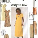 Simplicity Sewing Pattern 8566 Misses Size 6-10 Easy Wardrobe Pullover Dress Top Pants Shorts