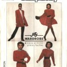 Simplicity Sewing Pattern 8728 Misses Size 12 Jiffy Knit Wardrobe Pants Top Skirt Swing Jacket
