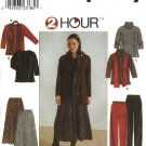 Simplicity Sewing Pattern 8805 Womans Plus Size 18W-24W Wardrobe Pullover Top Skirt Pants Scarf