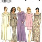Simplicity Sewing Pattern 9012 Misses Size 6-16 Nightgown Nightie Robe Pajamas Top Pants Shorts