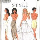 Simplicity Style Sewing Pattern 9027 Misses Size 6-24 Slip Petticoat Straight Half-Slip Long Full
