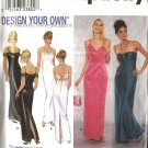 Simplicity Sewing Pattern 9124 Misses Size 14-20 Formal Prom Evening Gowns Halter Long Dresses