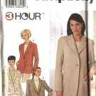 Simplicity Sewing Pattern 9138 Misses Size 6-12  Long Sleeve Shawl Notched Collar Jacket