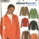 Simplicity Sewing Pattern 9513 Misses Size 14-20 Pullover Button Front Long Sleeve Hooded Knit Tops