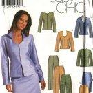 Simplicity Sewing Pattern 9700 Misses Size 6-12 Easy Straight Skirt Pants Jacket Suit Pantsuit