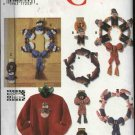 Simplicity Crafts Sewing Pattern 9775 Seasonal Decorations Wreaths Wall Hangings Sweatshirt