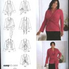 Simplicity Sewing Pattern 2598 Womans Plus Size 18W-24W Khaliah Ali Knit Top Cardigan-Wrap
