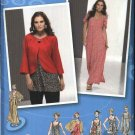 Simplicity Sewing Pattern 2662 Womans Plus Size 18W-24W Dress Top Pants Jacket Tunic