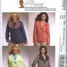 McCall's Sewing Pattern 5821 Womans Plus Size 18W-24W Button Front Embellished Jackets