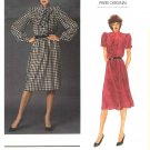 Vogue Sewing Pattern 2735 Misses Size 10 Givenchy Paris Original Day Dress