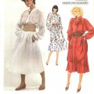 Vogue Sewing Pattern 2862 Misses Size 10 Calvin Klein American Designer Dress Top Tunic Skirt